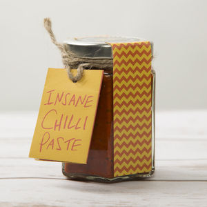 Insane Chilli Paste - foodie gifts for father's day