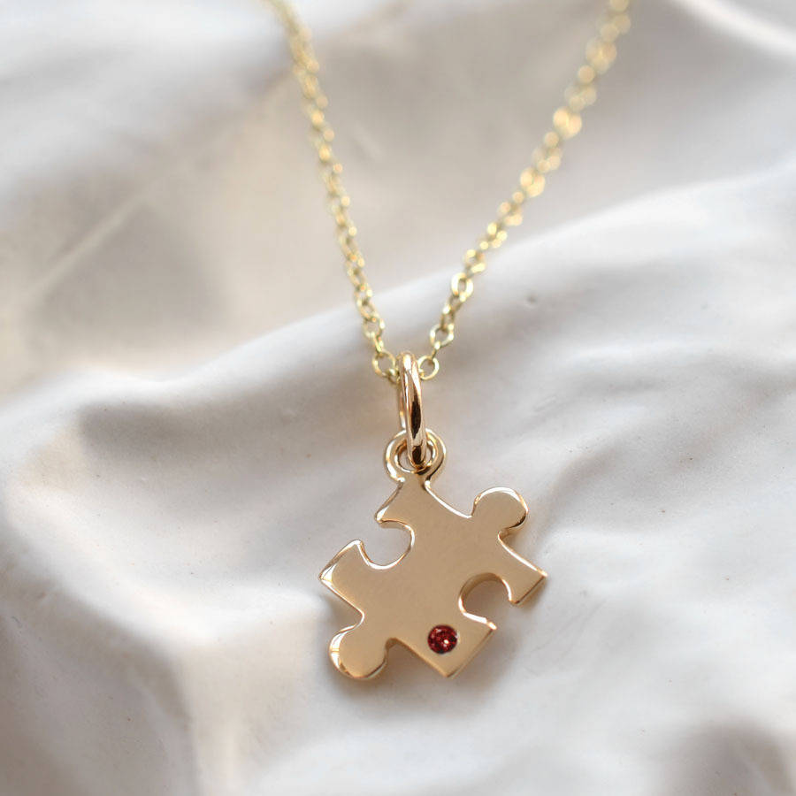 puzzle necklaces speaks piece autism necklace b charm