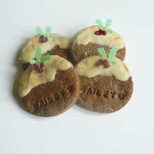 Christmas Pud Cookie Dog Treats