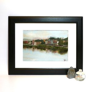 Across The Arno Oil Painting