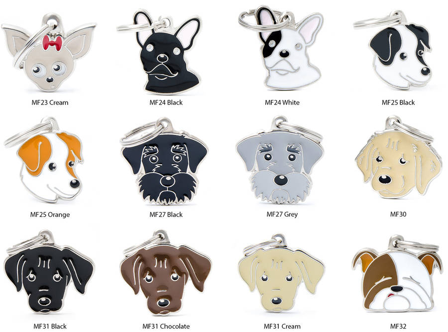 Personalized Dog ID Tags. Helping dog owners find the best dog ID tags for their pets is how we got our name! dogIDs was founded by passionate dog lovers whose only interest is to make high-quality products that will keep dogs safe if they should get lost.