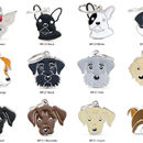 Engraved Breed Dog ID Tag