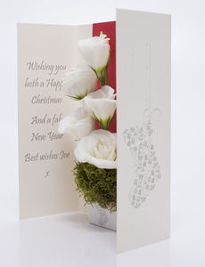 Christmas Flower Card