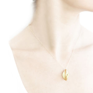 Sunset 18ct Gold Plated Pendant