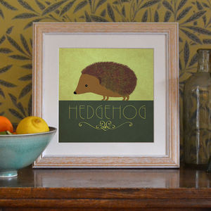 'Hedgehog' Art Print
