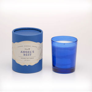 Angel's Rest Soy Candle For Peace - christmas home accessories