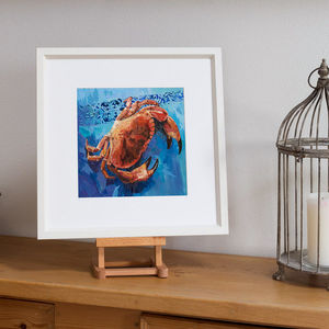 The Crab, Framed Print