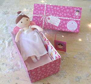 The Fairy Bride Sleepover Doll - pretend play & dressing up