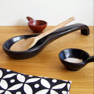 Earthenware Spoon Rest - utensils