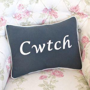 Handmade 'Cwtch' Cushion