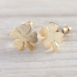 Four Leaf Clover Earrings - whatsnew
