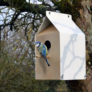 Milk Carton Inspired Nest Box