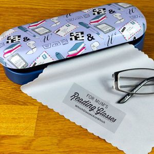 Personalised Reading Glasses Case - glasses cases