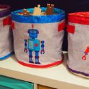 Robot Storage Buckets