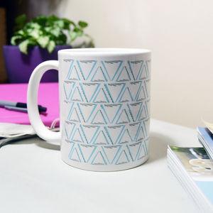 Entwined Geometric Pattern Mug