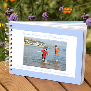 Personalised Grandparent Album - gifts for grandparents