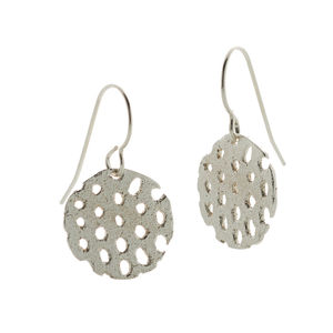 Remnant Silver Drop Earrings - earrings