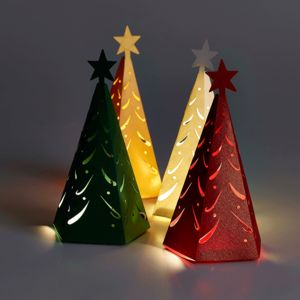 Christmas Tree Favour Boxes - wedding favours