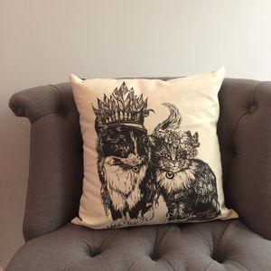 Kitty Playmates Cushion