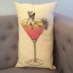 Bottoms Up Cushion