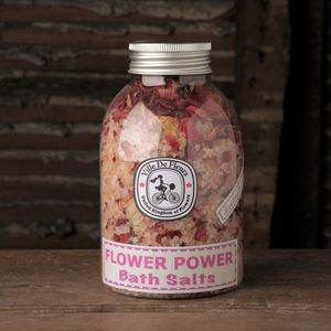 Flower Power Pink Himalayan Bath Salts - bath & body