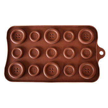 Giant Chocolate Buttons Mould