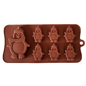 Penguins Chocolate Mould - kitchen accessories