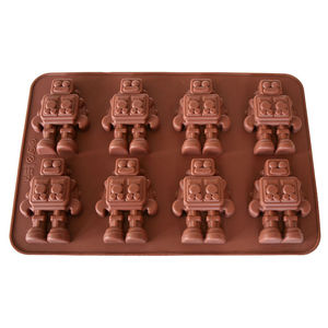 Robots Chocolate Mould - kitchen accessories