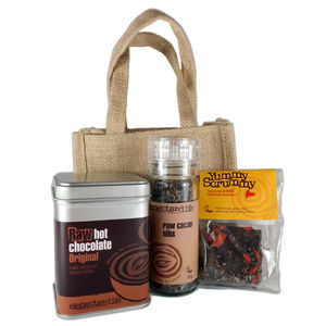 Raw Chocolate Gift Bag - teas, coffees & infusions