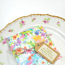 Meadow Wildflowers Seed Packet Wedding Favour