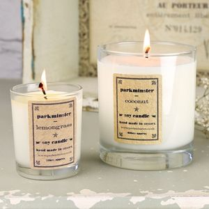 Handmade Scented Soy Candle - candles & candlesticks