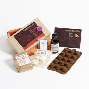 Raw Chilli Chocolate Making Kit - make your own kits