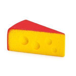 Portion Of Wooden Edam Cheese - toys & games