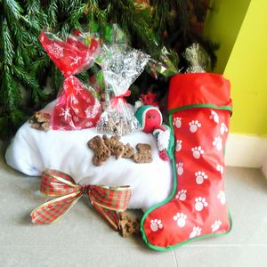 Doggy Christmas Stocking - personalised