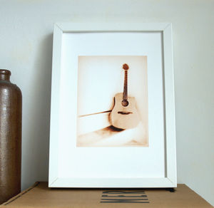 Guitar Photograph - posters & prints