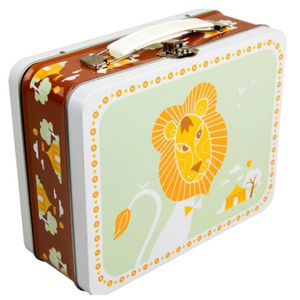Circus Retro Lunch Box - lunch boxes & bags