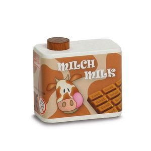 Wooden Carton Of Flavoured Milk - toys & games