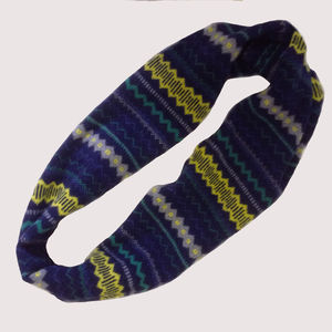 Light And Shade Fair Isle Lambswool Snood