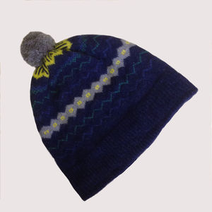 Light And Shade Fair Isle Lambswool Hat