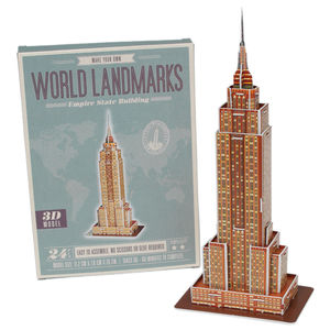 Build Your Own Empire State Building - traditional toys & games