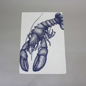 Lobster Tea Towel - kitchen accessories