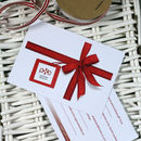 gift notification card