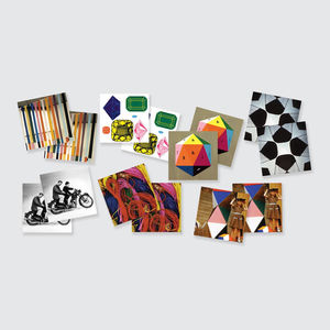 Eames Memory Game, 36 Pairs
