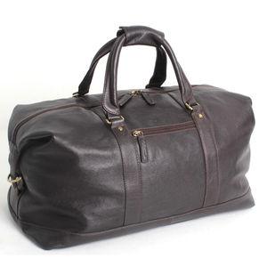 Tumble Leather Holdall