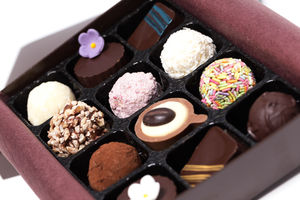 Artisan Chocolate Truffle Gift Box