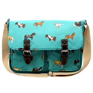 Horse Satchel Or School Bag