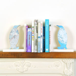 Personalised Penguin Bookend - bookends