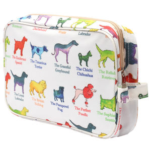 Dogs Traditional Washbag