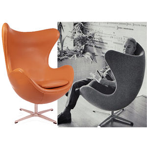 Armchair's, Cocoon Egg Style Chair - furniture