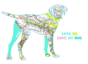 Personalised German Pointer Dog Print